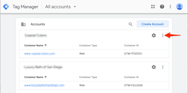 Tag Manager Add User Instructions Step 1